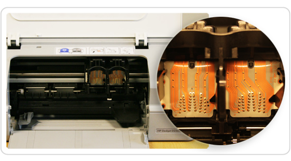 Printer contacts